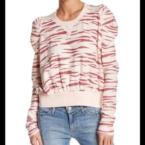 Free People Zara Zara Print Sweatshirt